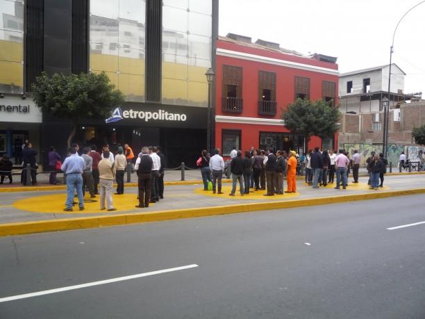 Földrengés-gyakorlat Limában