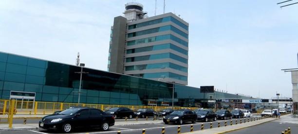 Limai Nemzetközi Repülőtér (forrás: http://www.taxivanperu.com)