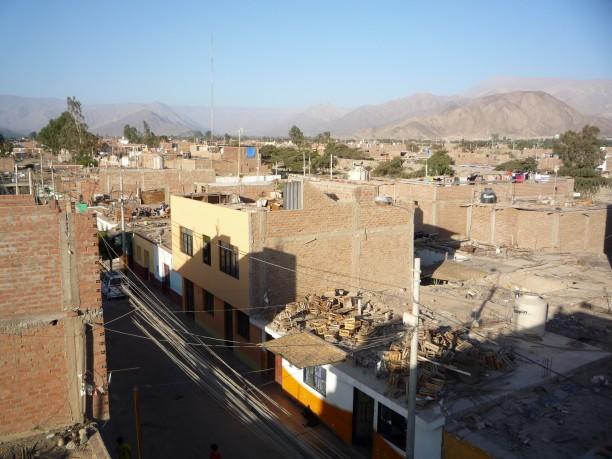 Tipikus perui kisváros