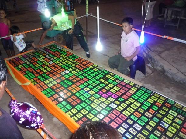 Szerencsejáték egy fesztiválon