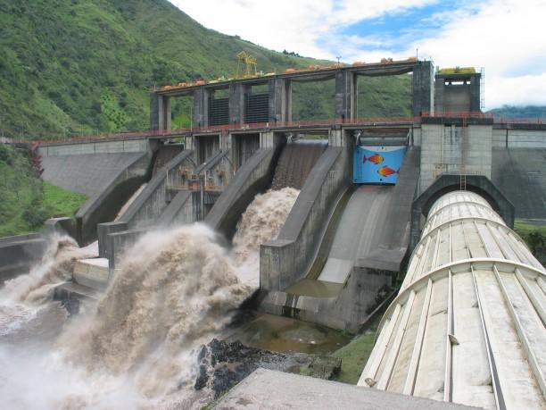 Vízi erőmű Santa Maria közelében (forrás: http://www.infominero.pe)