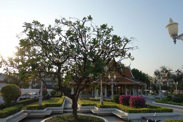 Egy buddhista épület