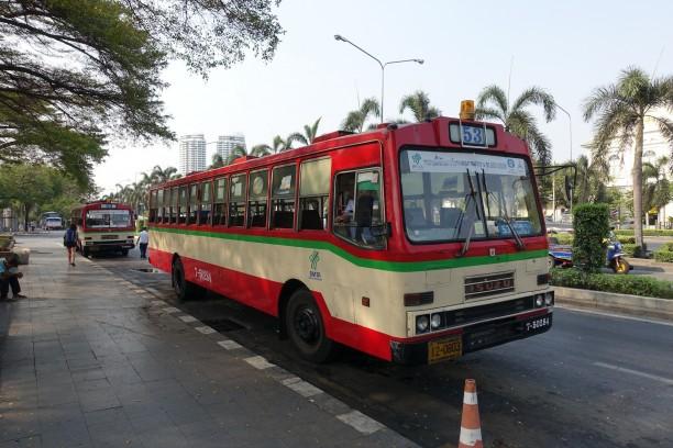 Busz Bangkokban