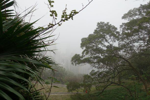 Kicsit ködös volt az idő nappal
