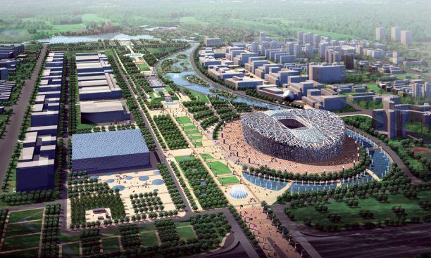 Olimpiai falu (forrás: sasaki.com)