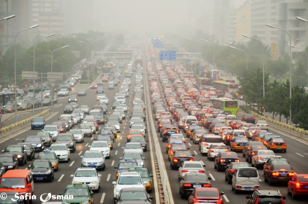Pekingi csúcsforgalom (forrás: flickr/so8)