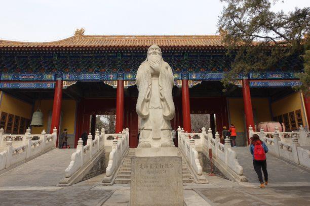 Konfuciusz szobra